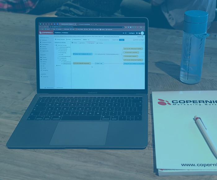 Marketing automation en e-mailmarketing met Copernica