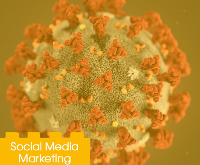 Social advertising corona