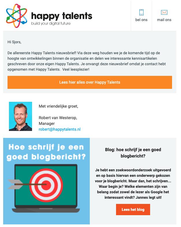e-mail nieuwsbrief