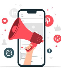 Social media kanalen 2021